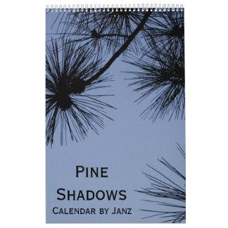 2018 Pine Shadows Calendar by Janz