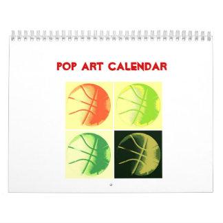 2018 Pop Art Calendar