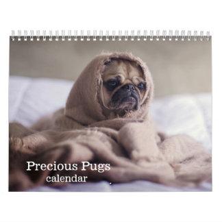 2018 Precious Pugs Calendar