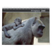 2018 Primates Wildlife Photography Calendar