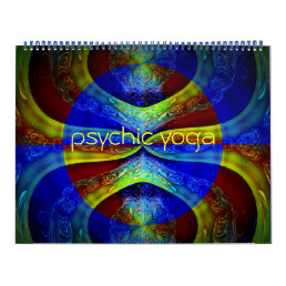 2018 Psychic Yoga Calendar of Abstract Art
