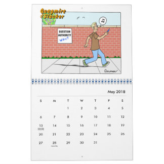 2018 Quagmire the Slacker Calendar