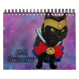 2018 Sailor Moon Cat Calendar (Galaxy Version)