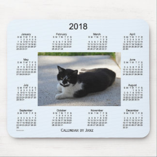 2018 Sassy Cat Calendar by Janz Mouse Pad