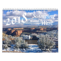 2018 Scamping Around The West Calendar