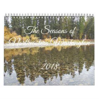 2018 Seasons of Northeastern Washington Calendar