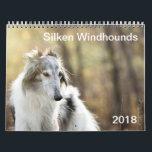 """2018 Silken Windhounds (head shots) Calendar<br><div class=""""desc"""">2018 Silken Windhounds (head shots)</div>"""