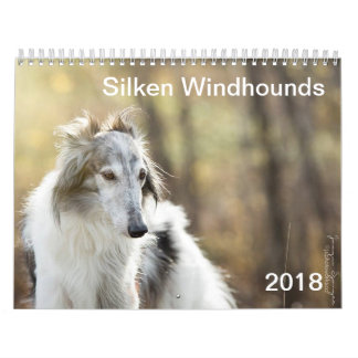 2018 Silken Windhounds (head shots) Calendar