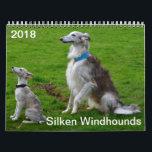 "2018 Silken Windhounds (Multiple dogs) Calendar<br><div class=""desc"">2018 Silken Windhounds (Multiple dogs)</div>"