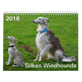 2018 Silken Windhounds (Multiple dogs) Calendar