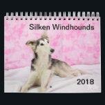 """2018 Silken Windhounds (Other) Calendar<br><div class=""""desc"""">2018 Silken Windhounds (Other)</div>"""