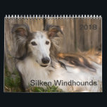 """2018 Silken Windhounds (Reclining) Calendar<br><div class=""""desc"""">2018 Silken Windhounds (Reclining)</div>"""
