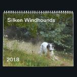 """2018 Silken Windhounds (Running) 5 Calendar<br><div class=""""desc"""">2018 Silken Windhounds (Running)</div>"""