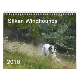 2018 Silken Windhounds (Running) 5 Calendar
