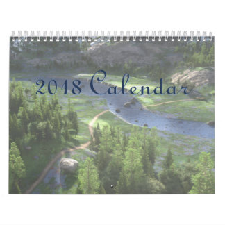 2018 SilverWebForge Calendar