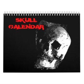 2018 Skull Calendar