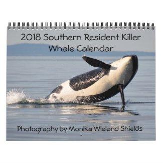 2018 Southern Resident Killer Whale Calendar
