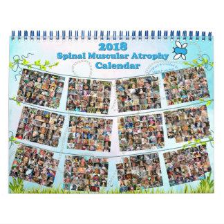 2018 Spinal Muscular Atrophy (SMA) Calendar