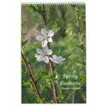 2018 Spring Blossoms Wall Calendar by Janz