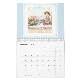 2018 Teddy Bear Collections Calendar