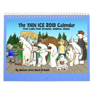 2018 Thin Ice Calendar