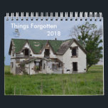 """2018 Things Forgotten Calendar<br><div class=""""desc"""">featuring various sights around Oklahoma forgotten by time or showing their age.</div>"""
