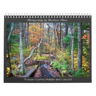 2018 Walden Pond and Concord Calendar
