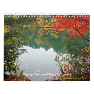 2018 Walden Pond and Thoreau Country Calendar