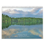 2018 Walden Pond Wall Calendar: with quotes Calendar