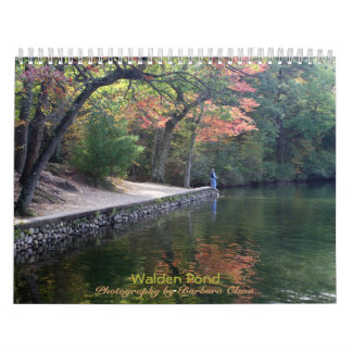 2018 Walden Pond: with quotes Calendar