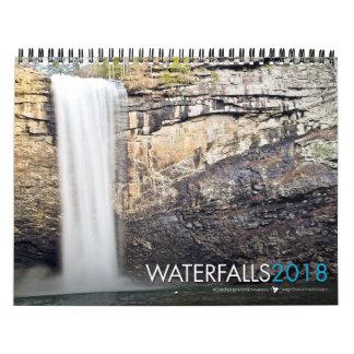 2018 Waterfall Bible Verse Calendar
