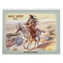 2018 Wild West Calendar
