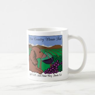 2018 Wine Country Wiener Fest mugs & steins