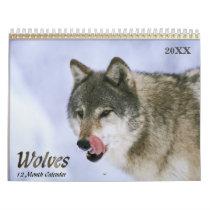 2018 Wolves Wildlife Calendar