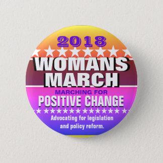 2018 Womans March Pinback Button