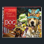 "2018 Year of the Dog, Hawaii Calendar<br><div class=""desc"">Shaley DeGiorgio's watercolors depict the joy of pets in our lives and in our hearts. Her sense of humor and fun color choices make her paintings unforgettable. For more information about Shaley DeGiorgio and her PetLuvz paintings,  please go to www.petluvz.com. All PetLuvz designs are &#169; 2017 Shaley DeGiorgio.</div>"