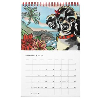 2018 Year of the Dog, Hawaii Calendar