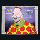 """2018 ZIPPY CALENDAR<br><div class=""""desc"""">365 Days of Random Behavior &amp; Arbitrary Donuts!</div>"""