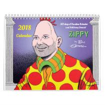 2018 ZIPPY CALENDAR