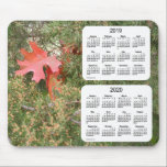 """2019-2020 Oak Leaf 2 Year Calendar by Janz Mouse Pad<br><div class=""""desc"""">Custom Calendar Designs by Janz copyright 2008-2018 Jan Fitzgerald. All rights reserved. Graphic Design,  Artwork,  and Photography by Jan and Michael Fitzgerald.</div>"""