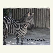 2019 Animal Calendar