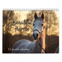 2019 Beautiful Horses Calendar