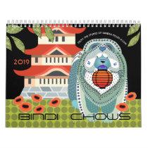 2019 BINDI CHOWS Art Calendar by Sandra Miller