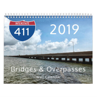 2019 Bridges & Overpasses Calendar