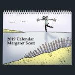 """2019 Calendar by Margaret Scott<br><div class=""""desc"""">2019 Calendar featuring artwork by Margaret Scott</div>"""