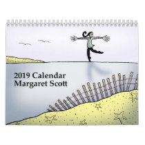 2019 Calendar by Margaret Scott