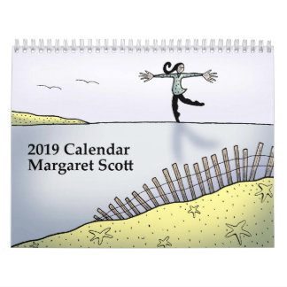 2019 Calendar by Margaret Scott