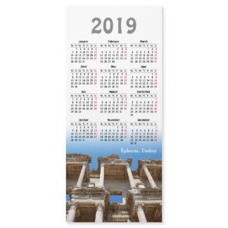 2019 calendar Ephesus, Turkey