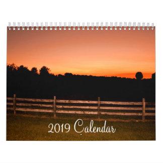 2019 Calendar - Photography by Wanda-Lynn Searles
