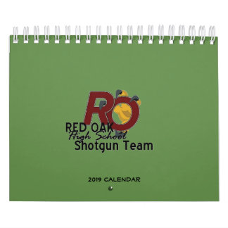 (2019 Calendar) Red Oak HS Shotgun Team Calendar